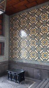 Azulejos dans l'hôtel de ville de Funchal - Madère