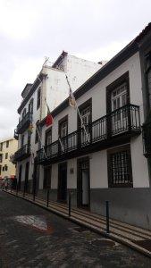 Dans les rues de la vieille ville - Funchal (Madère)