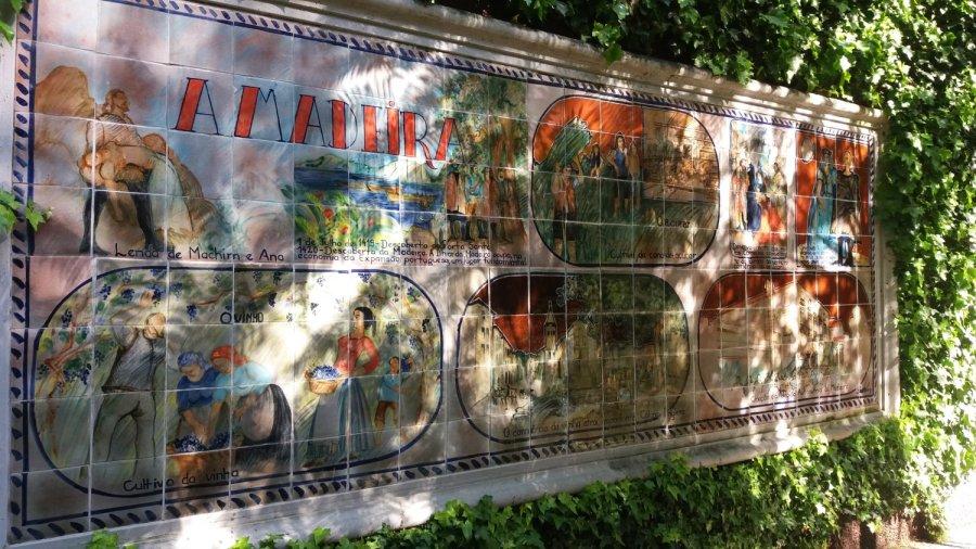 Céramiques du jardin tropical de Monte Palace (Funchal - Madère)