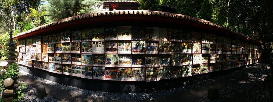 Céramiques du jardin oriental de Monte Palace (Funchal - Madère)