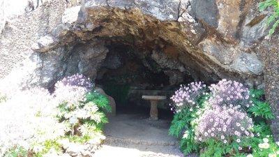 Grotte du jardin botanique de Funchal - Madère