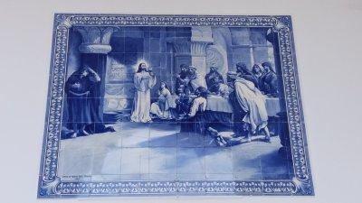 Azulejos de l'église Notre Dame de Monte - Funchal (Madère)