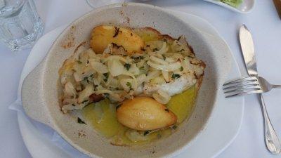 Délicieux plat de morue - Funchal (Madère)