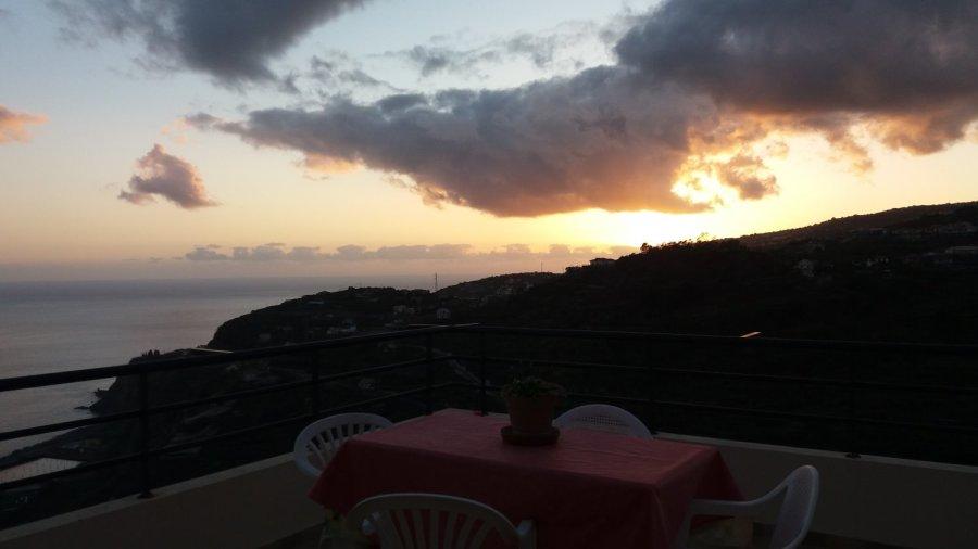 Coucher de soleil sur Ponta do Sol - Madère