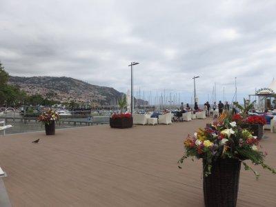 Sur le port de Funchal - Madère