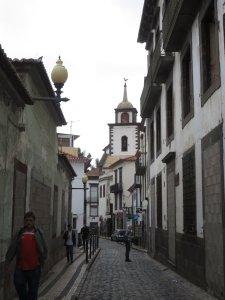 Dans les ruelles de Funchal - Madère