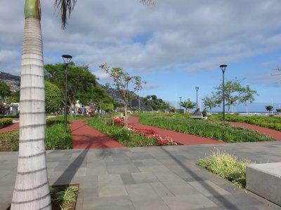 Les parterres fleuries de Funchal - Madère