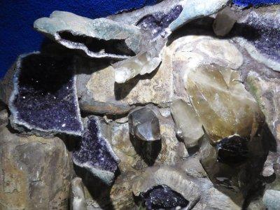Minéraux du jardin Monte Palace - Funchal