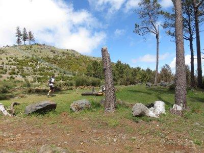 Les trailers du MIUT sur la route du Pico de Arieiro - Madère