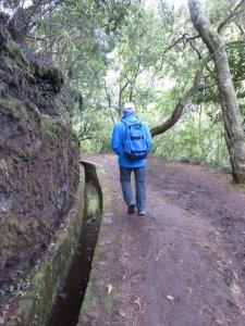 sur le sentier Dos Balcoes - Madère