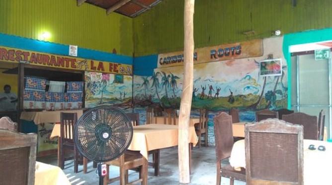 Au restaurant Le Fé - Cahuita (Costa Rica)