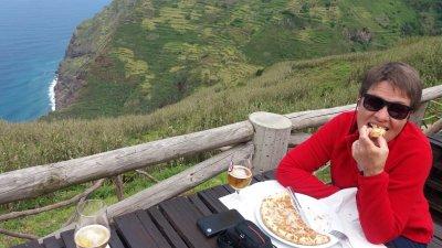 Au Restaurant du teleferico d'Achadas Da Cruz - Madère