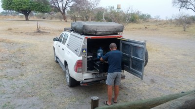 Au campsite de Third Bridge - Botswana