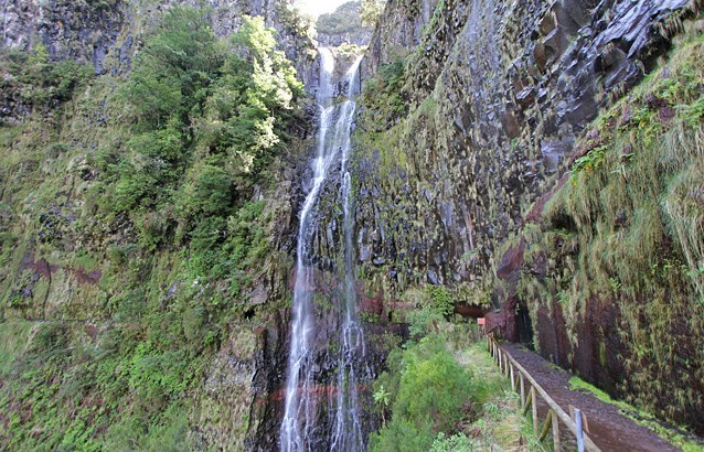 La cascata Do Risco - La cascade du danger (Madère)