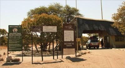 Savuti Gate - Botswana