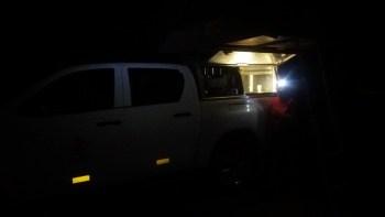 Première nuit au campsite de Muchenje - Botswana