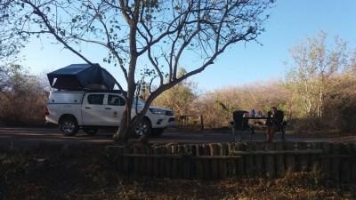 Au campsite de Muchenje - Botswana