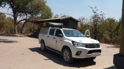 Arrivée au campsite de Mbudi dans la concession de Khwai - Botswana