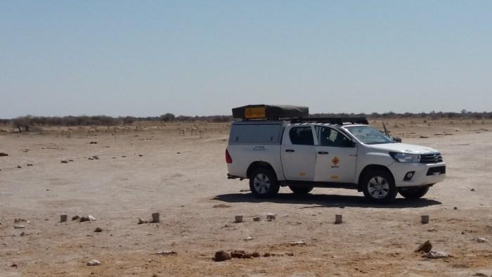 Les pans du Nxai Pan NP - Botswana