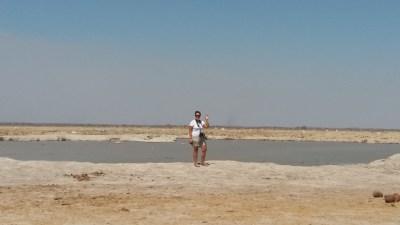 Sur les pans du Nxai Pan NP - Botswana