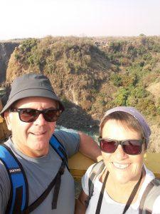 Sur le pont de Victoria Falls - Zimbabwe