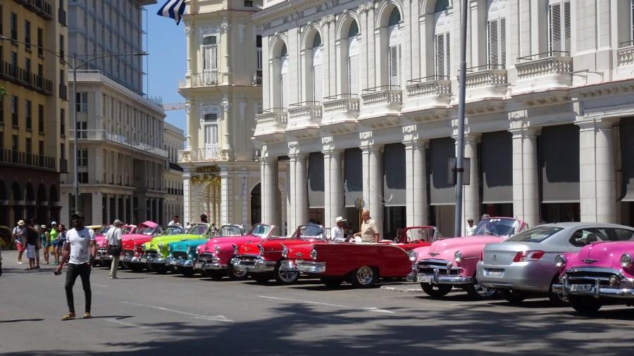 Les belles américaines - La Havane (Cuba)