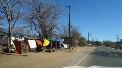 La ville de Kasane - Botswana