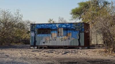Petit snack au campsite de Savuti - Botswana