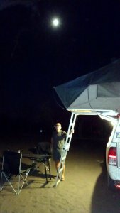Soirée au campsite de Savuti - Botswana