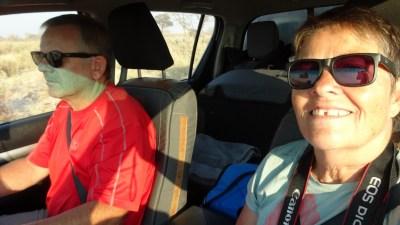 Sur la piste de la Réserve de Moremi - Botswana