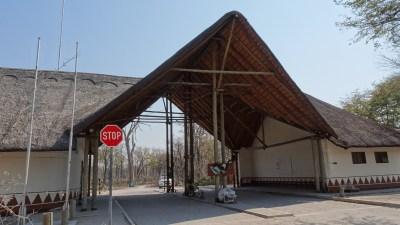 La South Gate de la Réserve de Moremi - Botswana