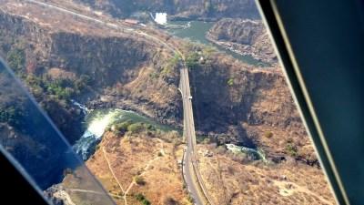 Le pont des Victoria Falls - Zimbabwe