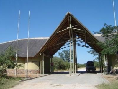 Goha Gate - Savuti (Botswana)