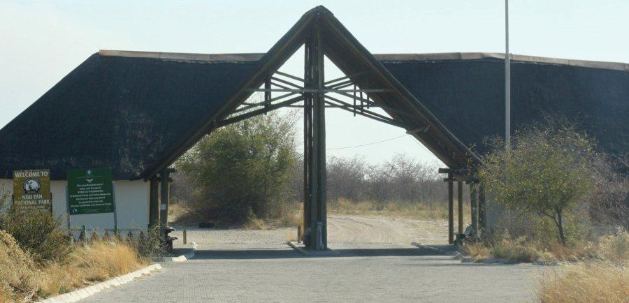 Nxai Pan Gate - Botswana