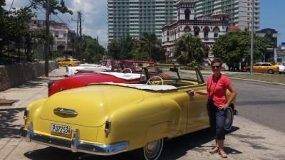 Belle française près d'une belle américaine ! La Havane (Cuba)