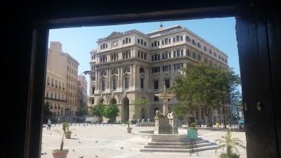 La chambre de Commerce - La Havane (Cuba)