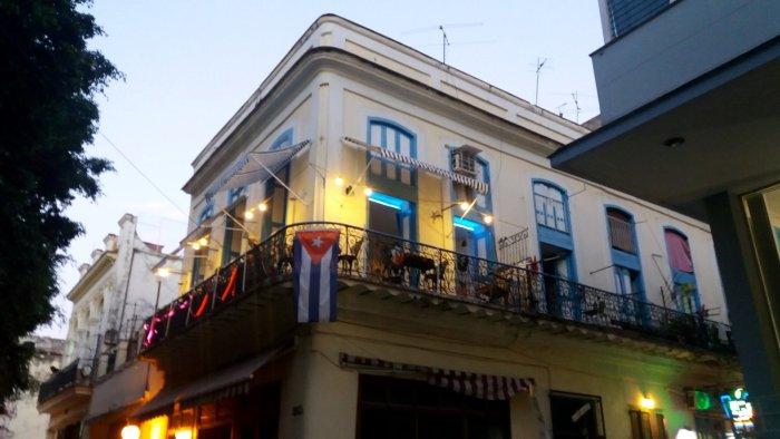 Notre restaurant rue Obispo - La Havane (Cuba)