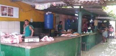 Boucherie à La Havane (Cuba)