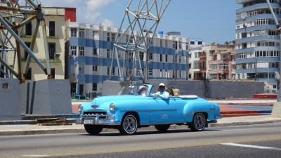 Belle américaine Avenue Antonio Maceo (Malecon) - La Havane (Cuba)