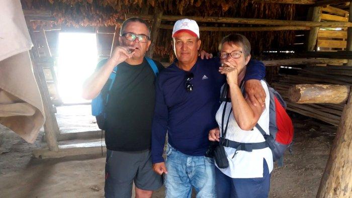 """""""Dégustation"""" des cigares cubains - Vinales (Cuba)"""