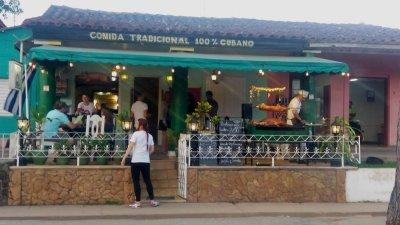 Restaurant à Vinales - Cuba