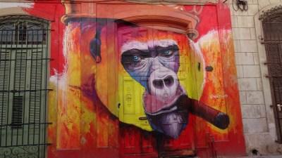 Belle peinture murale - La Havane (Cuba)