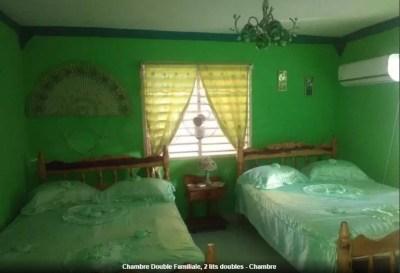 Notre chambre dans la casa particular Villa Coloma - Vinales (Cuba)
