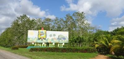 La direction de Pinar del Rio - Cuba