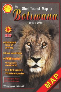 Shell Tourist Map Botswana