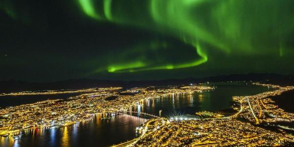Aurore boréale à Tromso - Norvège