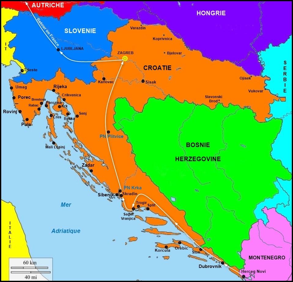 Croatie (Retour)