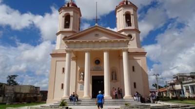 La cathédrale San Rosendo - Pinar del Rio (Cuba)