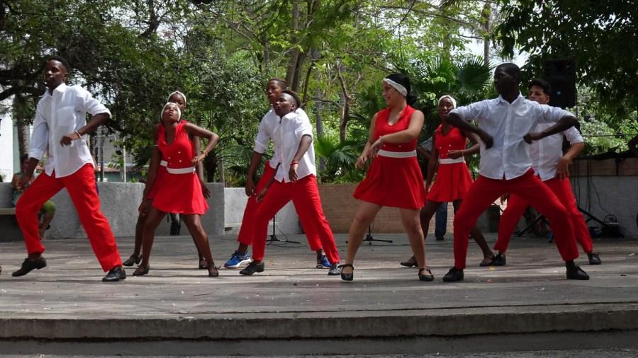 Jeunes danseurs cubains - Pinar del Rio (Cuba)
