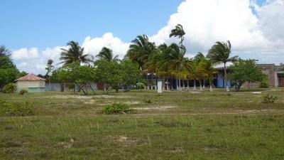 Au bord de la plage de Boca de Galafre - Cuba
